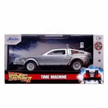 coche regreso al futuro 2 réplica diecast en caja original