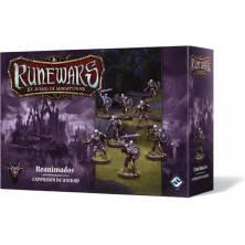 Caja expansión de unidad Runewars Reanimados, 8 miniaturas y material necesario