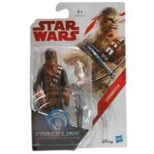 Figura Chewbacca con Porg...