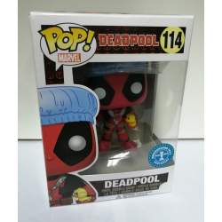 Funko POP! 114 Deadpool bath time (Deadpool)