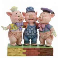 Figura Los Tres Cerditos...