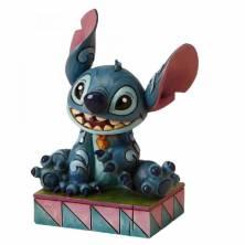 Figura Stitch sentado...
