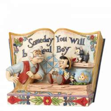 Figura Pinocho, Geppetto y...