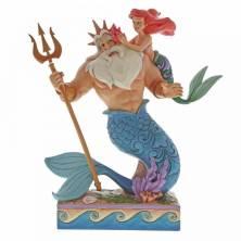 Figura Ariel y Rey Tritón...