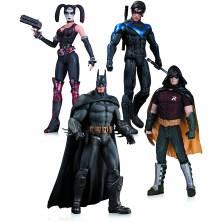Pack figuras Batman: Arkham...