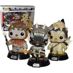 Funko Pop! 3 Pack Teebo,...